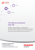 Leaflet about CAPTAIN - The effective treatment after TBI